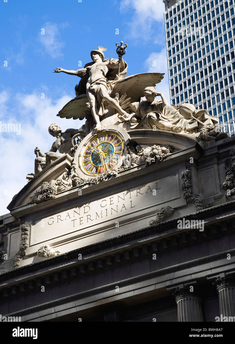 Grand Central Station Exterior 42nd Street Immagini   Grand Central ... fa37a29fd5b5