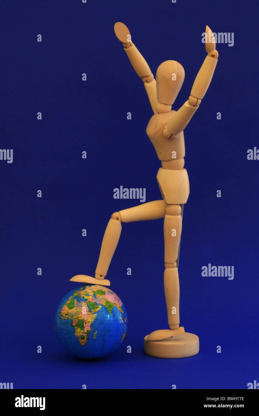 Globo mondo pianeta terra tipografia continenti mappa del mondo girare globe globe international international Immagini Stock