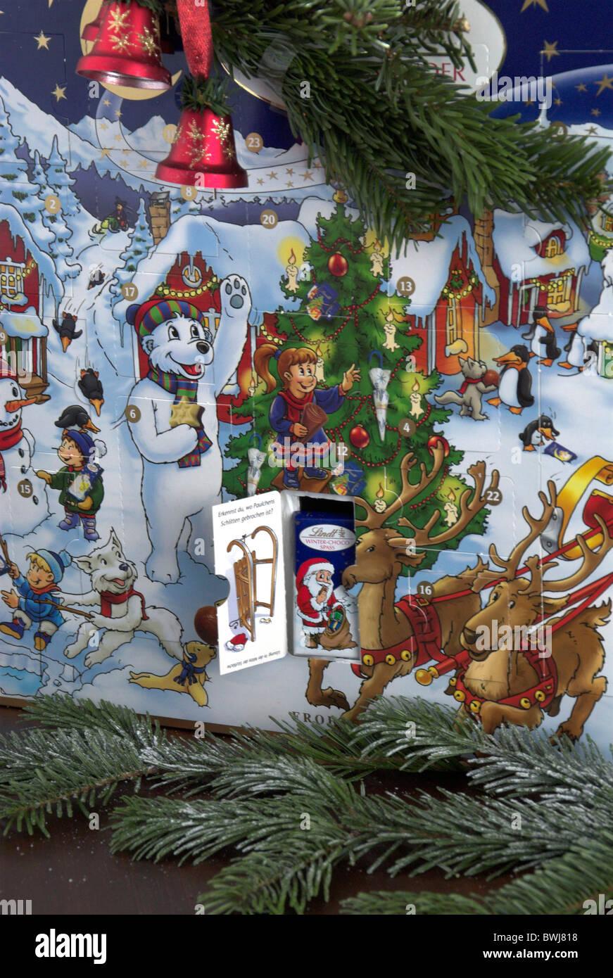 Calendario Avvento Cioccolato.Natale Calendario Dell Avvento Presenta Il Trattamento