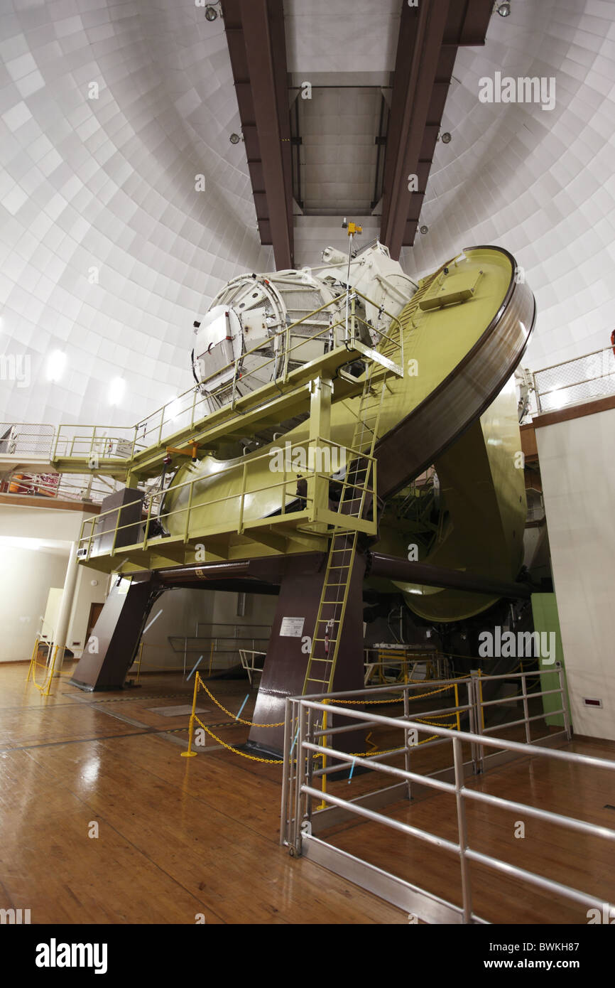 Australia, Nuovo Galles del Sud, Coonabarabran Namoi Street, schierandosi Osservatorio a molla, Astronomia e Astrofisica Immagini Stock