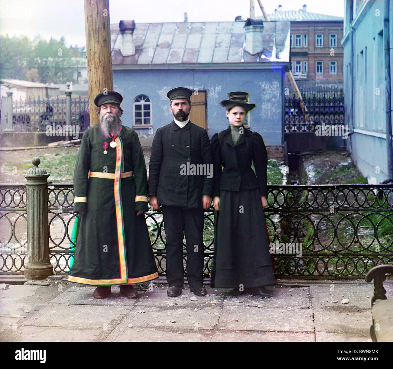 1910 Zlatoust bracci impianto impero russo la Russia Sergey Mikhaylovich Prokudin-Gorsky 1863- 1944 storia storica Immagini Stock