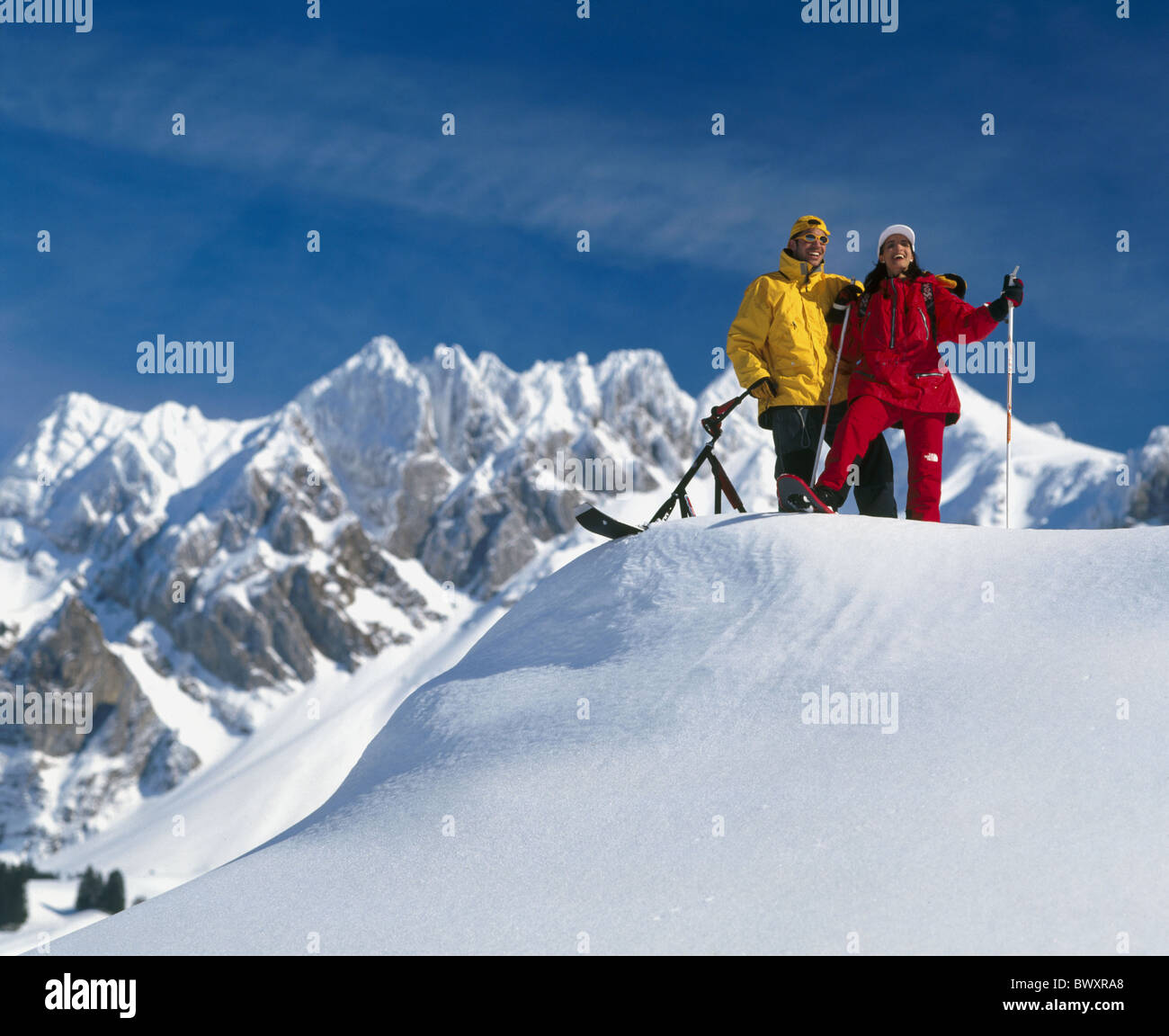 Snowscooter Immagini Snowscooter Fotos Stock Alamy