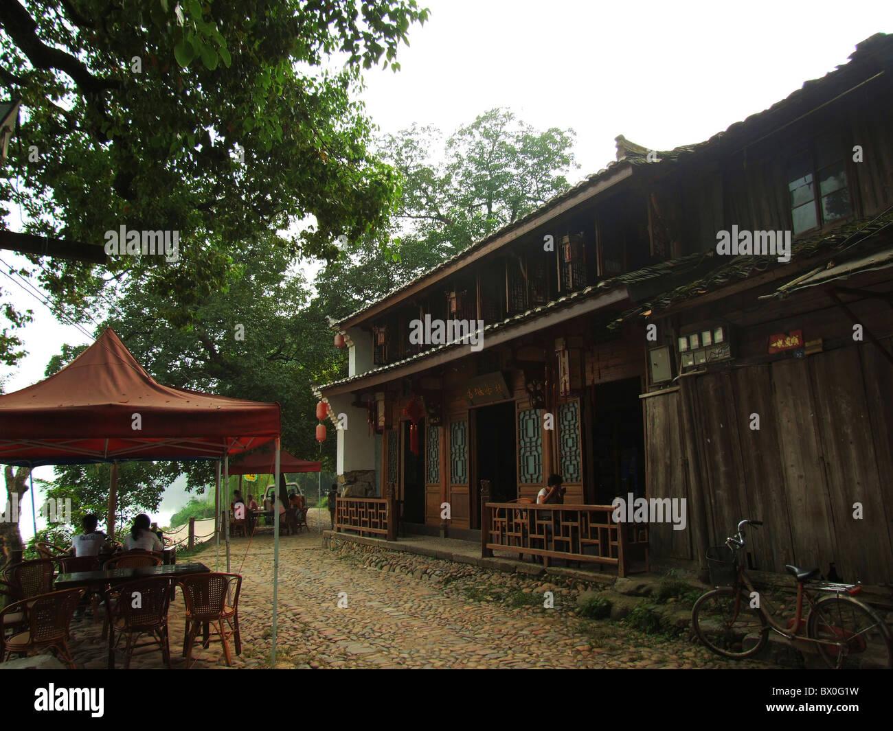 Case Tradizionali Cinesi : Case tradizionali in città dagangtou lishui nella provincia di