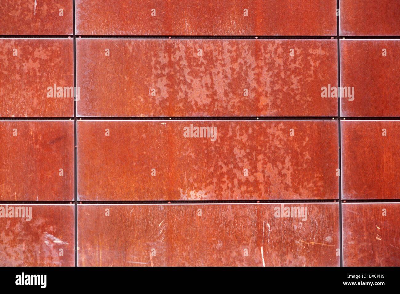 Metallo arrugginito Immagini Stock