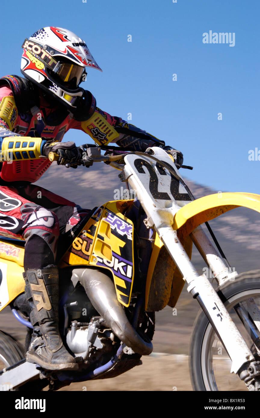 Azione Moto cross motor sport moto moto Sport in esecuzione Immagini Stock