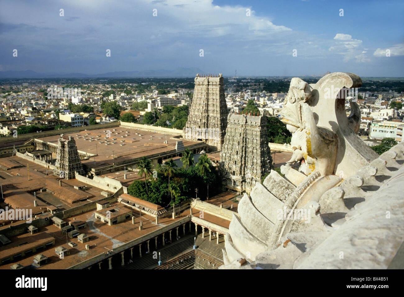 India - Madurai Sundareswarar Tempio di Madurai noto anche come Madurai Amman Tempio di Madurai Immagini Stock