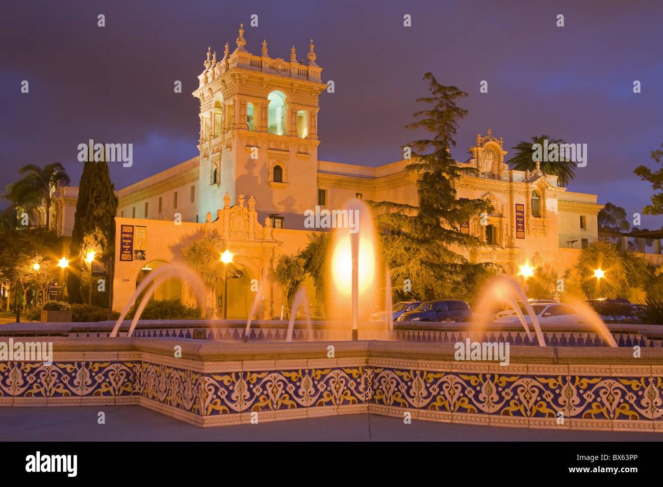 Casa di ospitalità nel Parco Balboa, San Diego, California, Stati Uniti d'America, America del Nord Immagini Stock