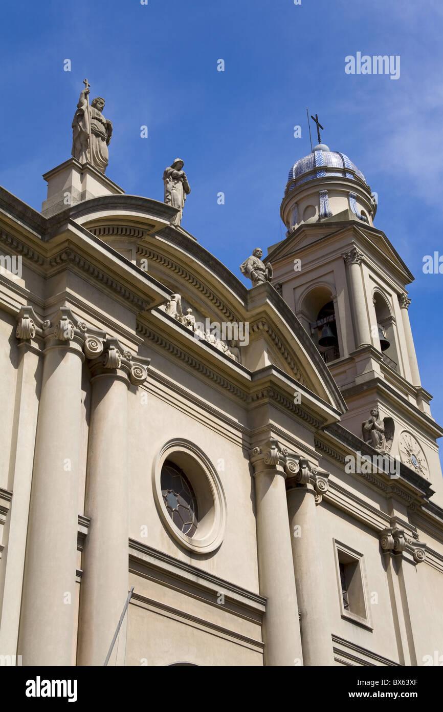 Cattedrale nel quartiere della Città Vecchia di Montevideo, Uruguay Sud America Immagini Stock