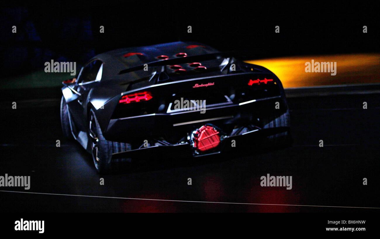 Lamborghini sesto elemento Immagini Stock