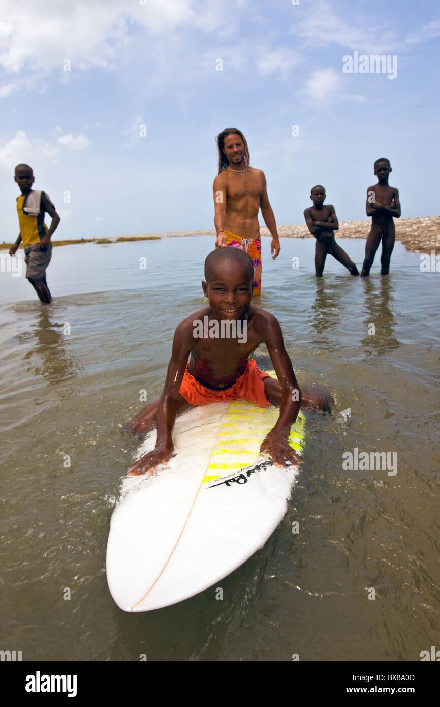 Haiti, Provincia Sud-Est, Les Anglais. Immagini Stock
