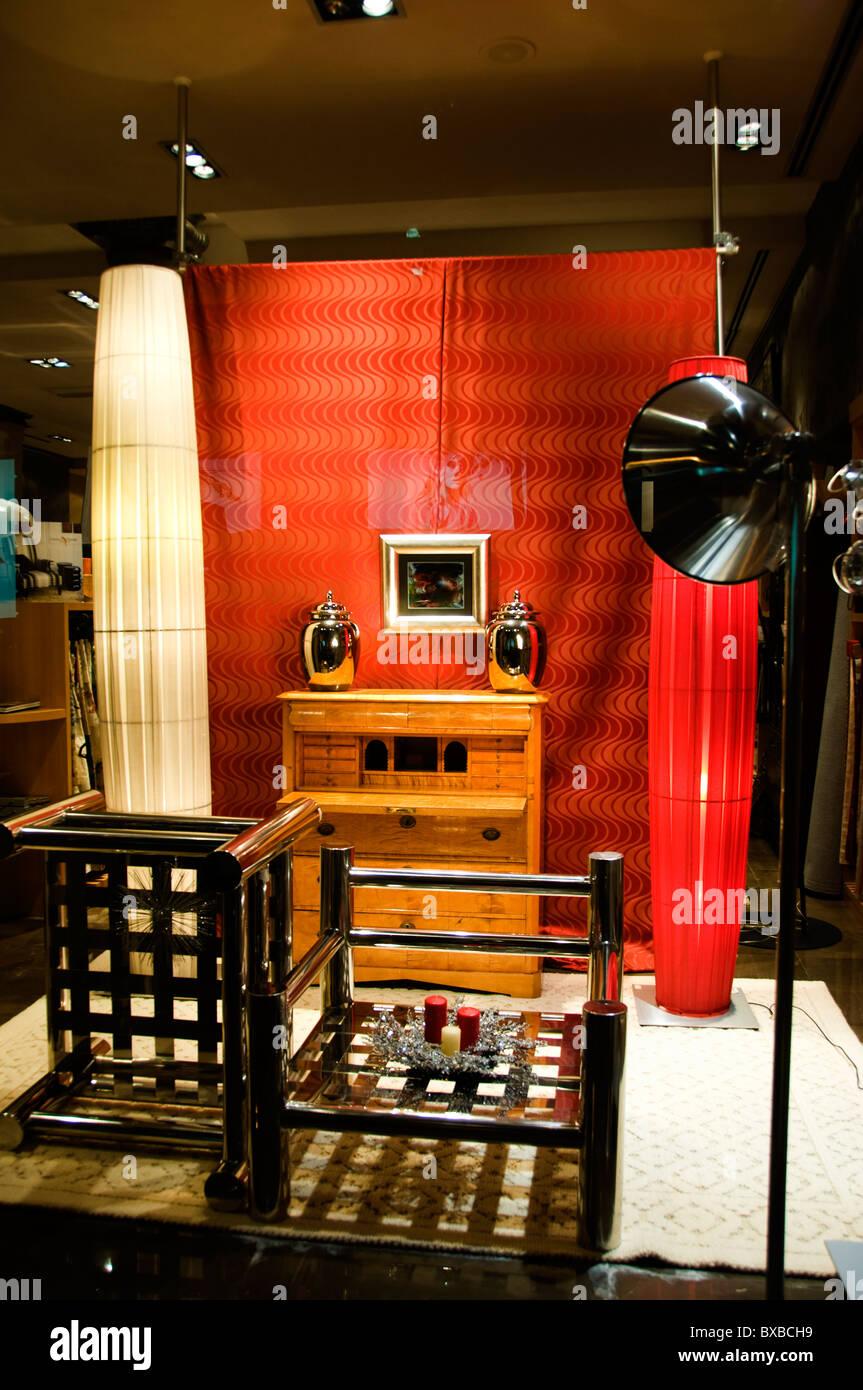 Bilbao Spagna spagnolo Store home negozio di vendita al dettaglio di mobili Immagini Stock