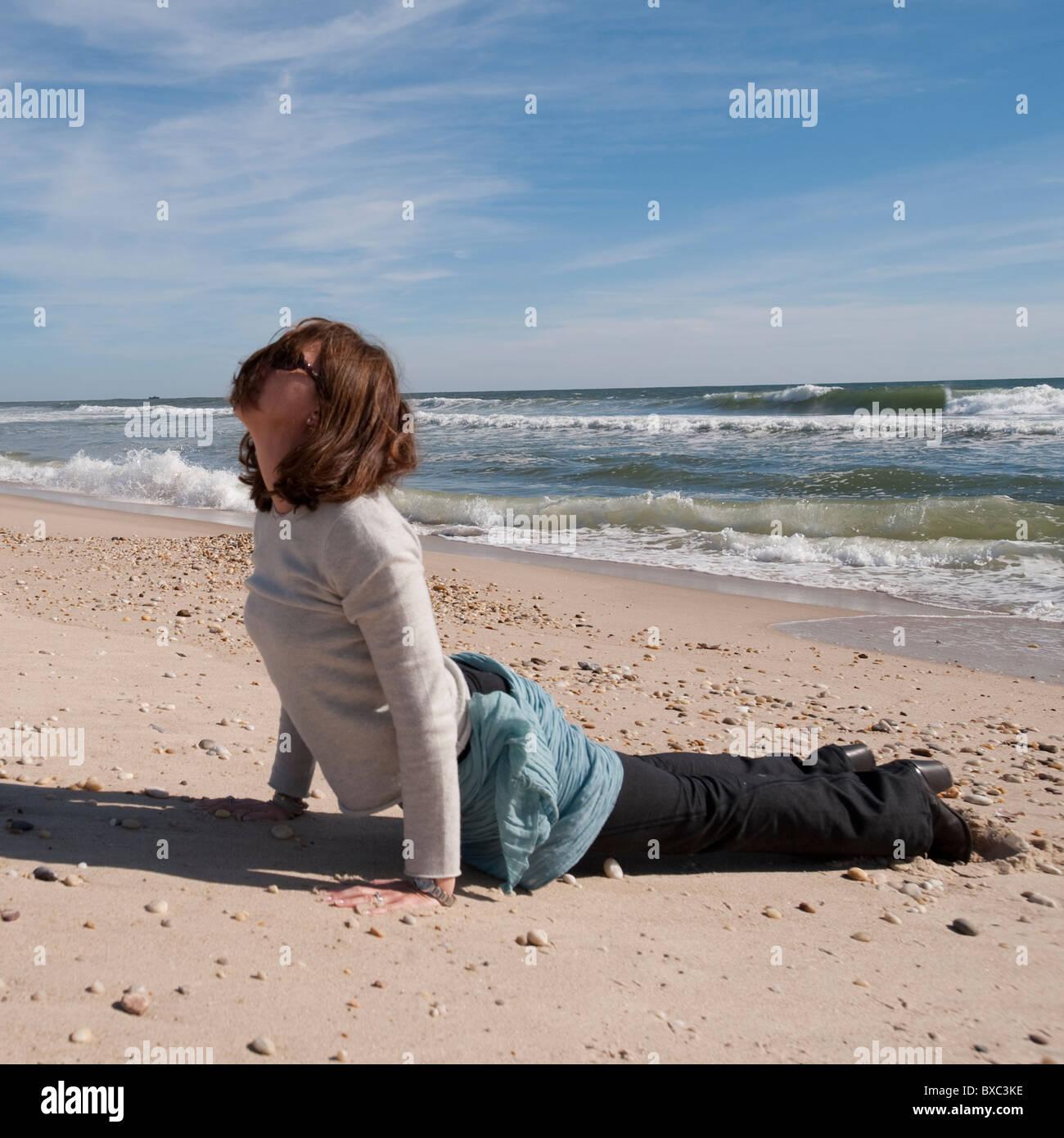 Gli Hamptons, Sag Harbor, New York Immagini Stock