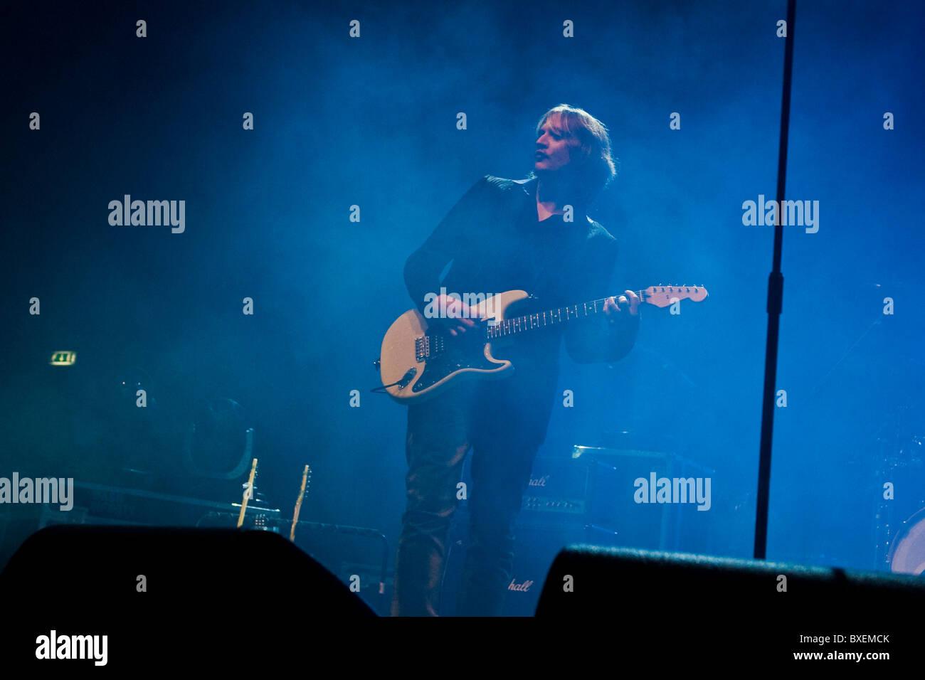 Modà in concerto, il Palasharp, Milano, Italia (18.12.2010) Immagini Stock