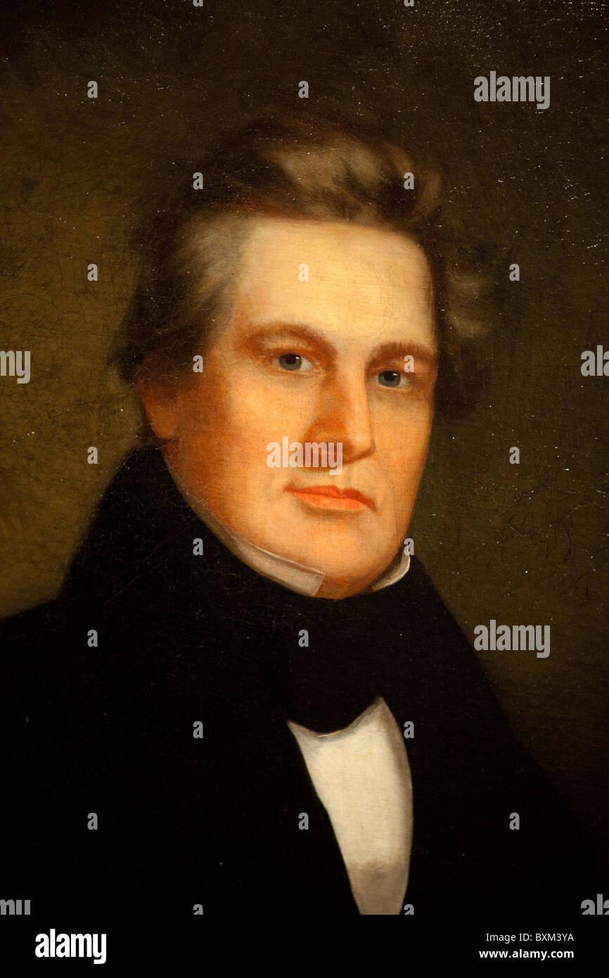 La verniciatura del XIII Presidente Millard Fillmore, artista non identificato, 1843 Foto Stock
