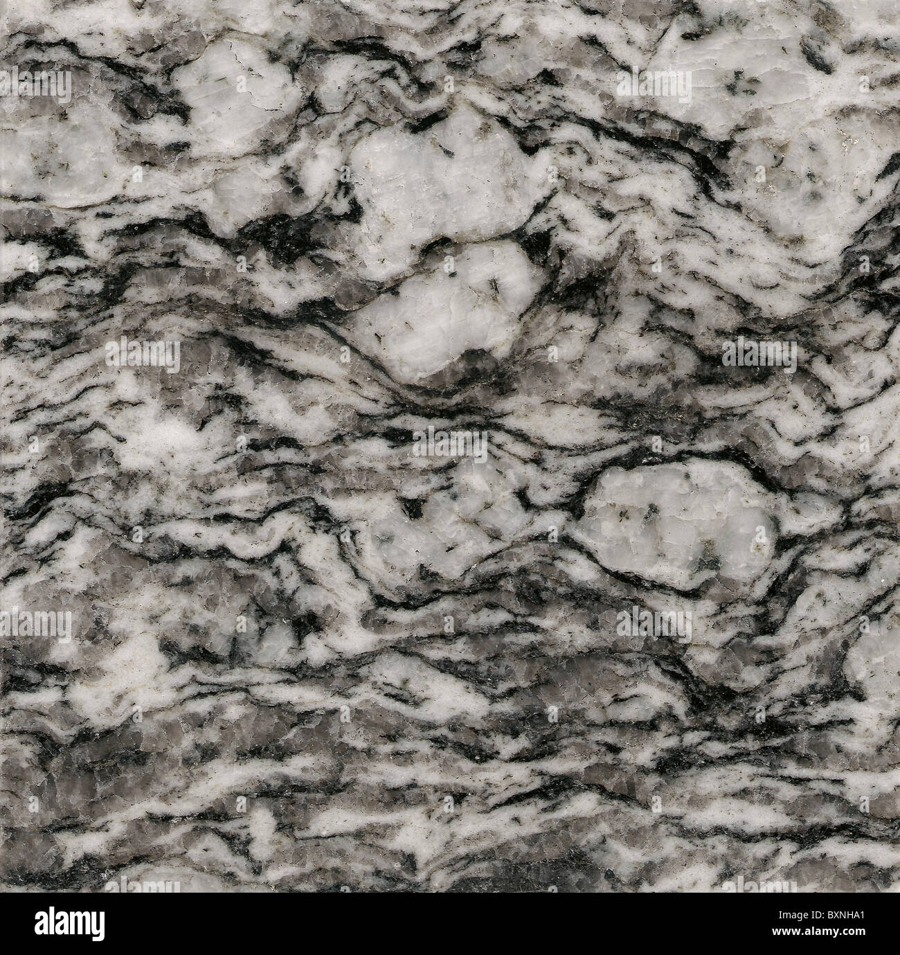 Granito grigio Immagini Stock