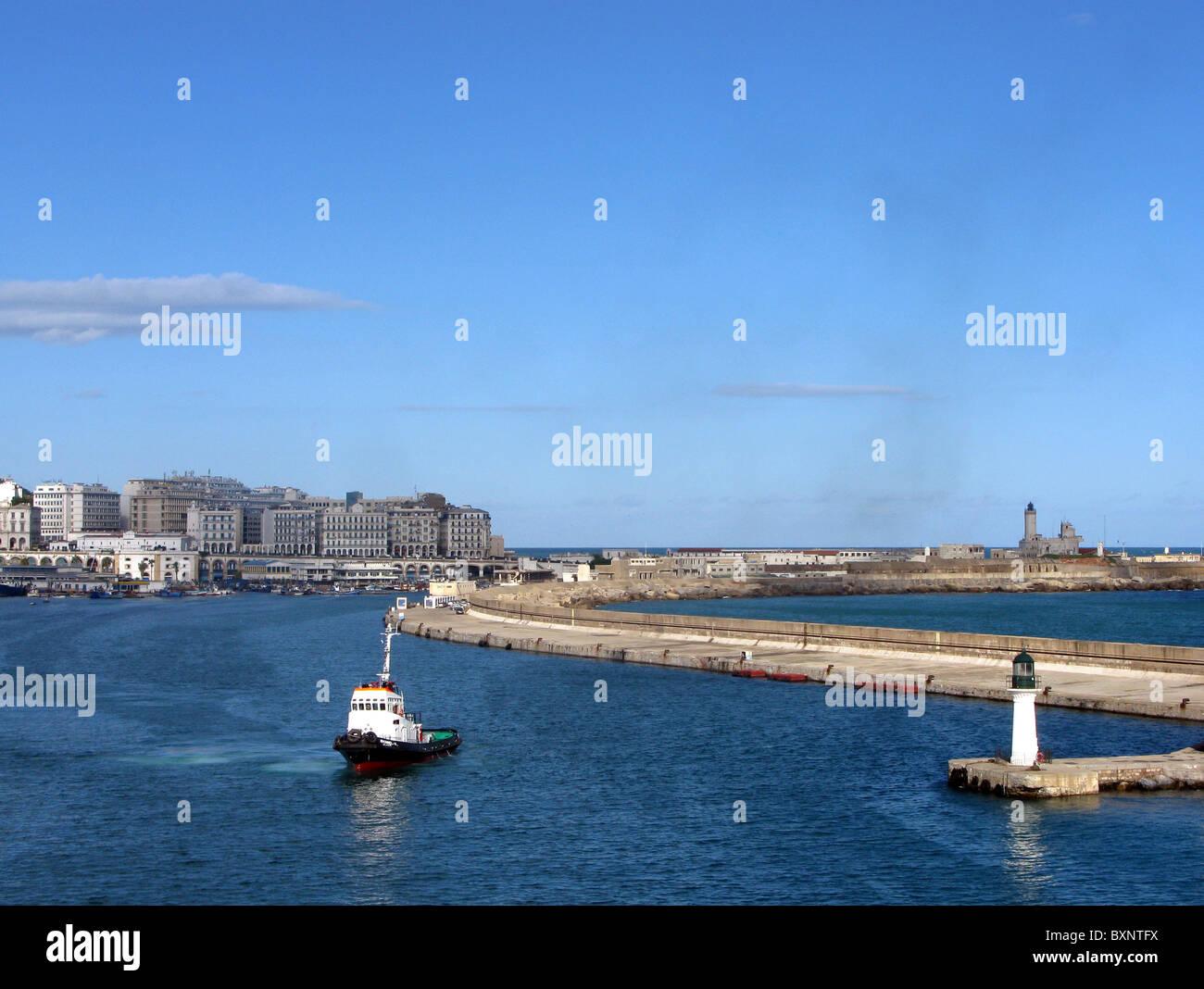 Algeri, città di Algeri in Algeria, Nord Africa Immagini Stock