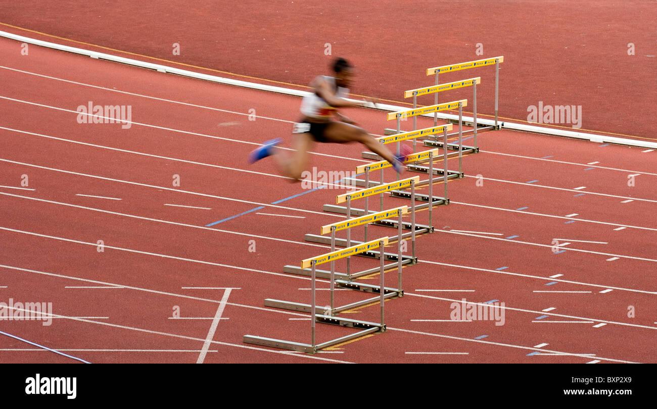 Aviva prove europea e il campionato britannico di atletica, Alexander Stadium, Birmingham, . Perri Shakes Drayton Immagini Stock