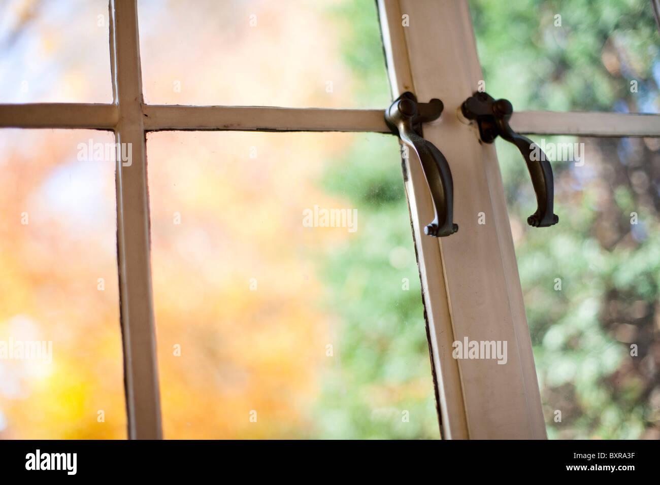 finestra antica Foto Stock