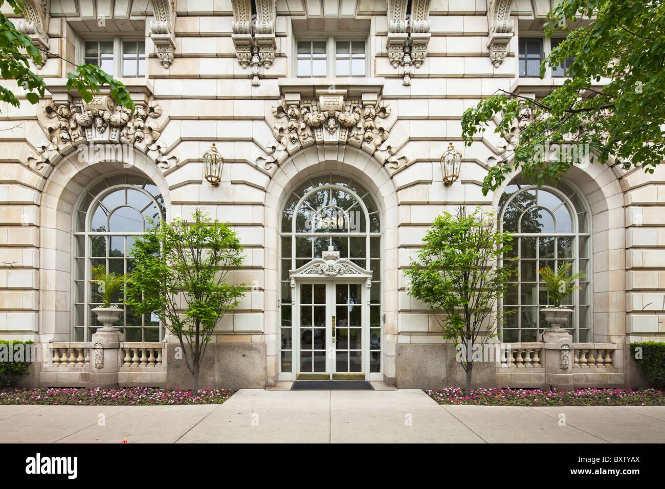 Benjamin edificio Marshall, Chicago Immagini Stock