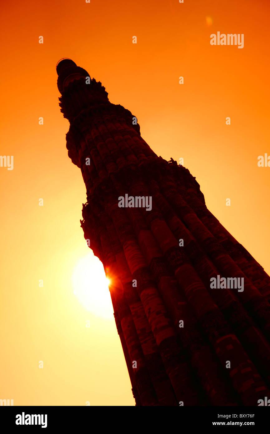 Qutub Minar, New Delhi, India Immagini Stock