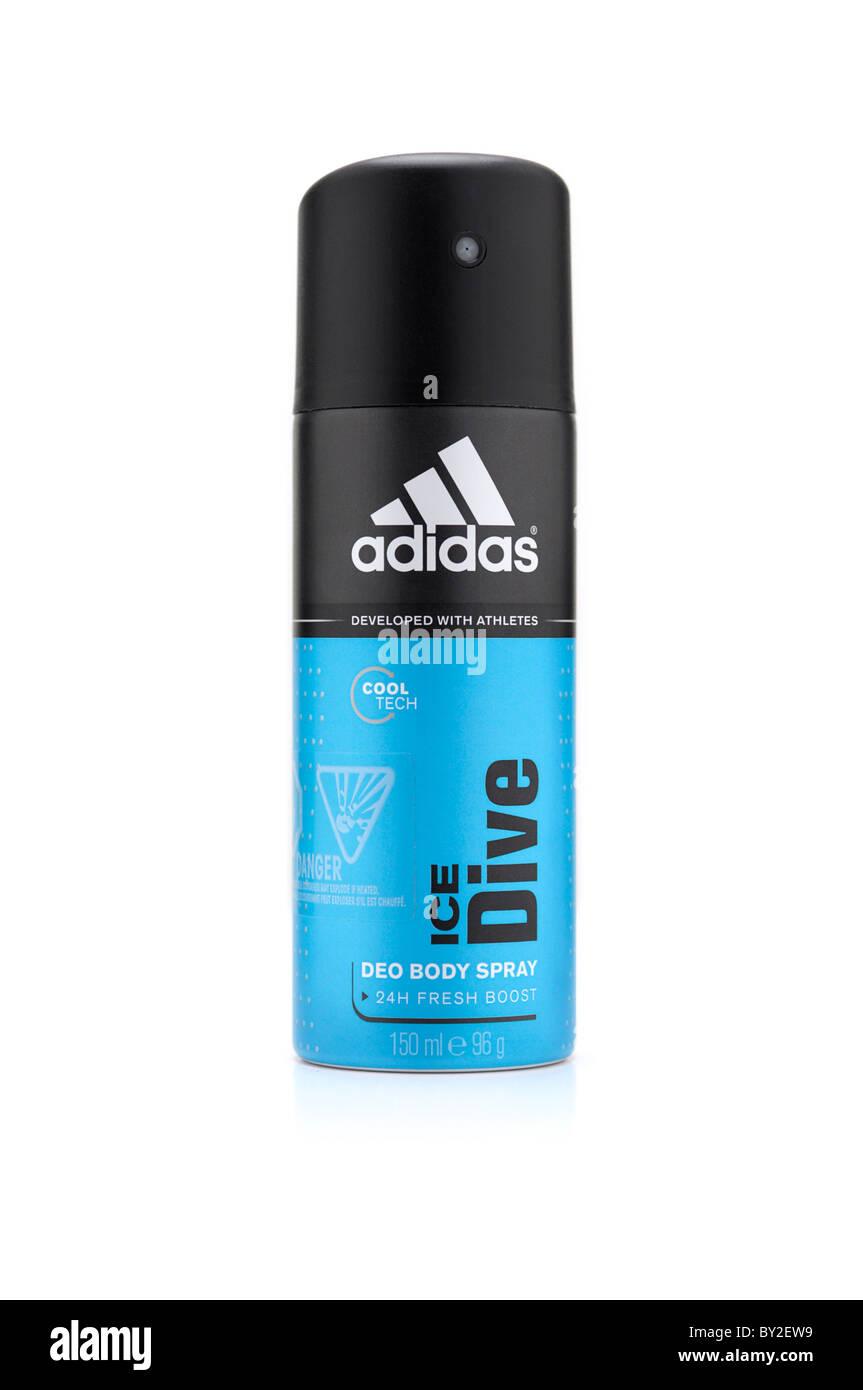 Spray corpo, deodorante Immagini Stock