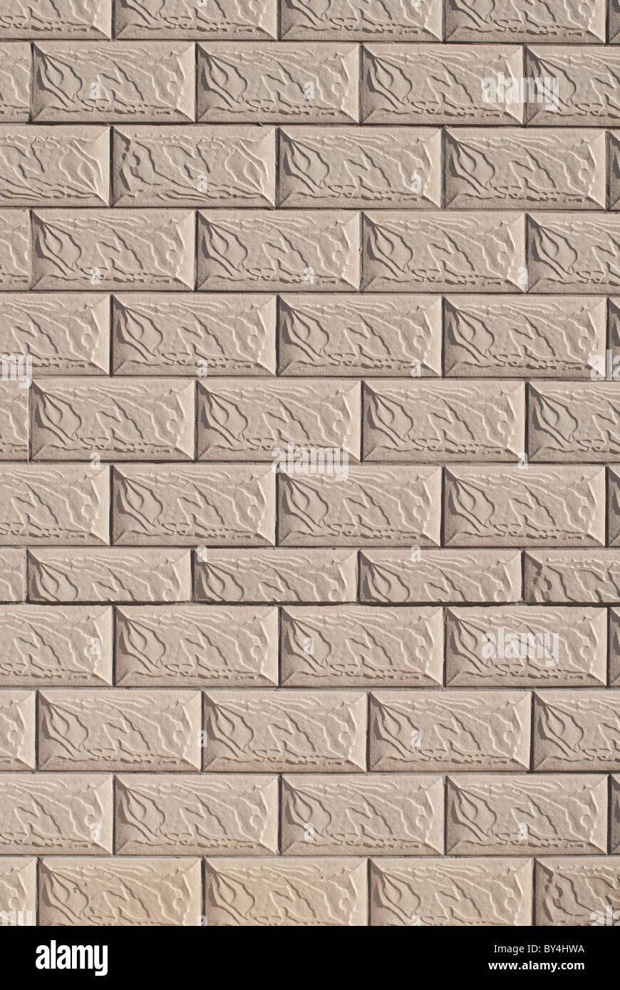Pareti In Finta Pietra finta pietra parete piastrelle foto & immagine stock