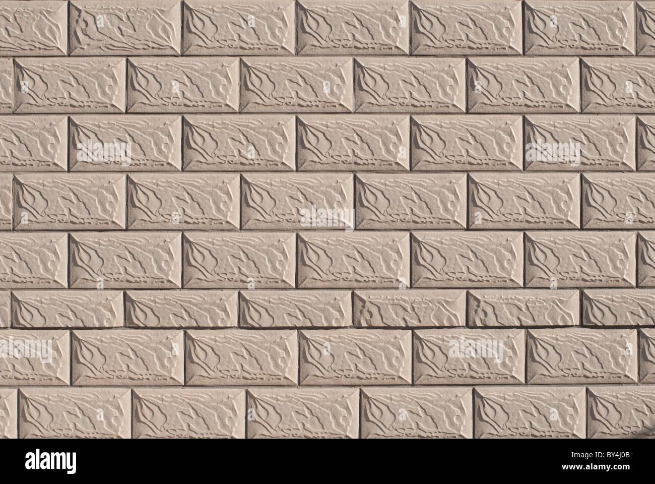 Finta pietra parete piastrelle Foto & Immagine Stock: 33908011 - Alamy