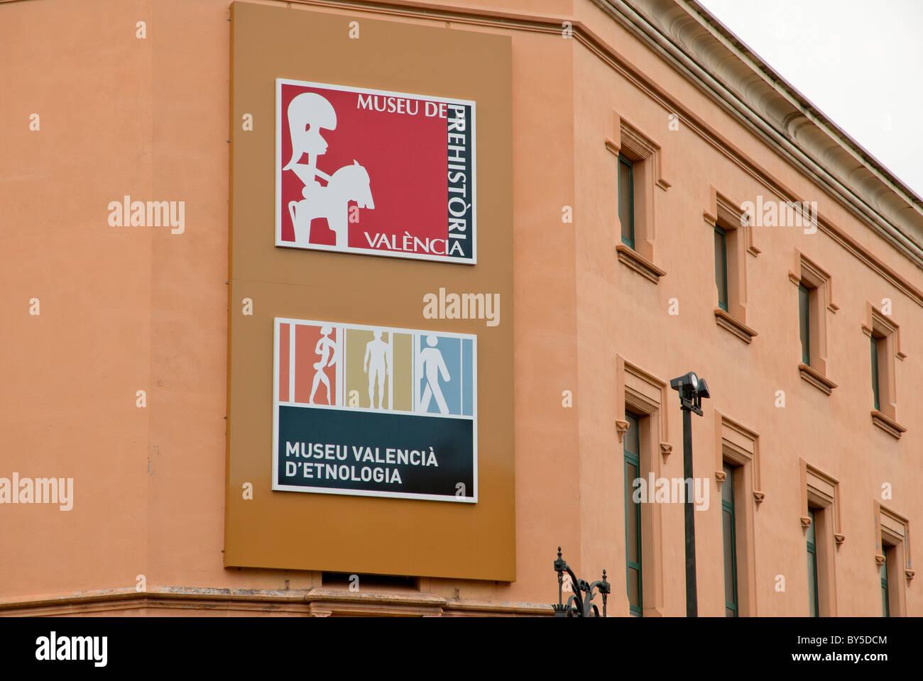 Museo etnologia Valencia Spagna Immagini Stock