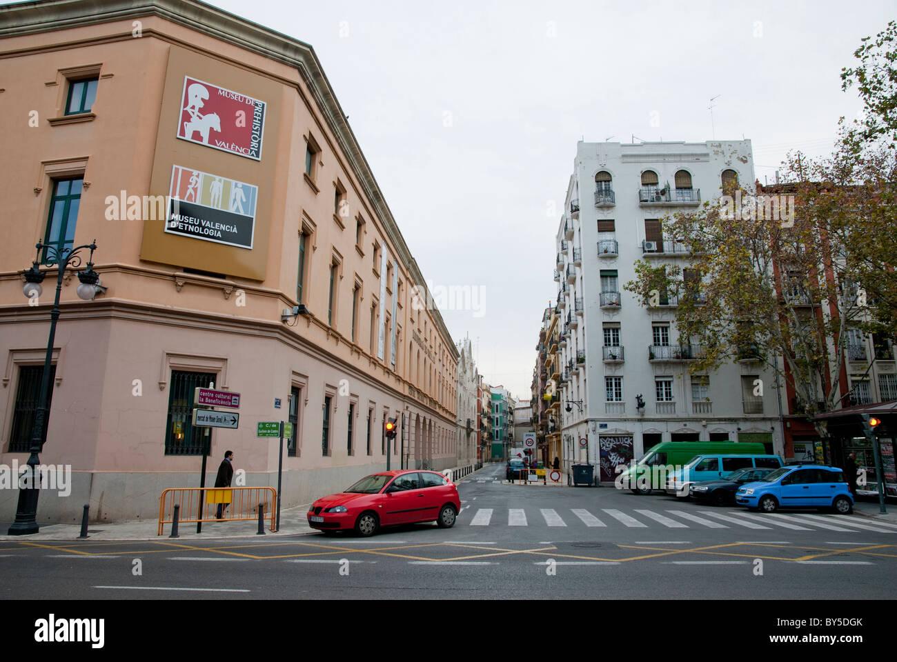 Museo etnologia Valencia Spagna Foto Stock