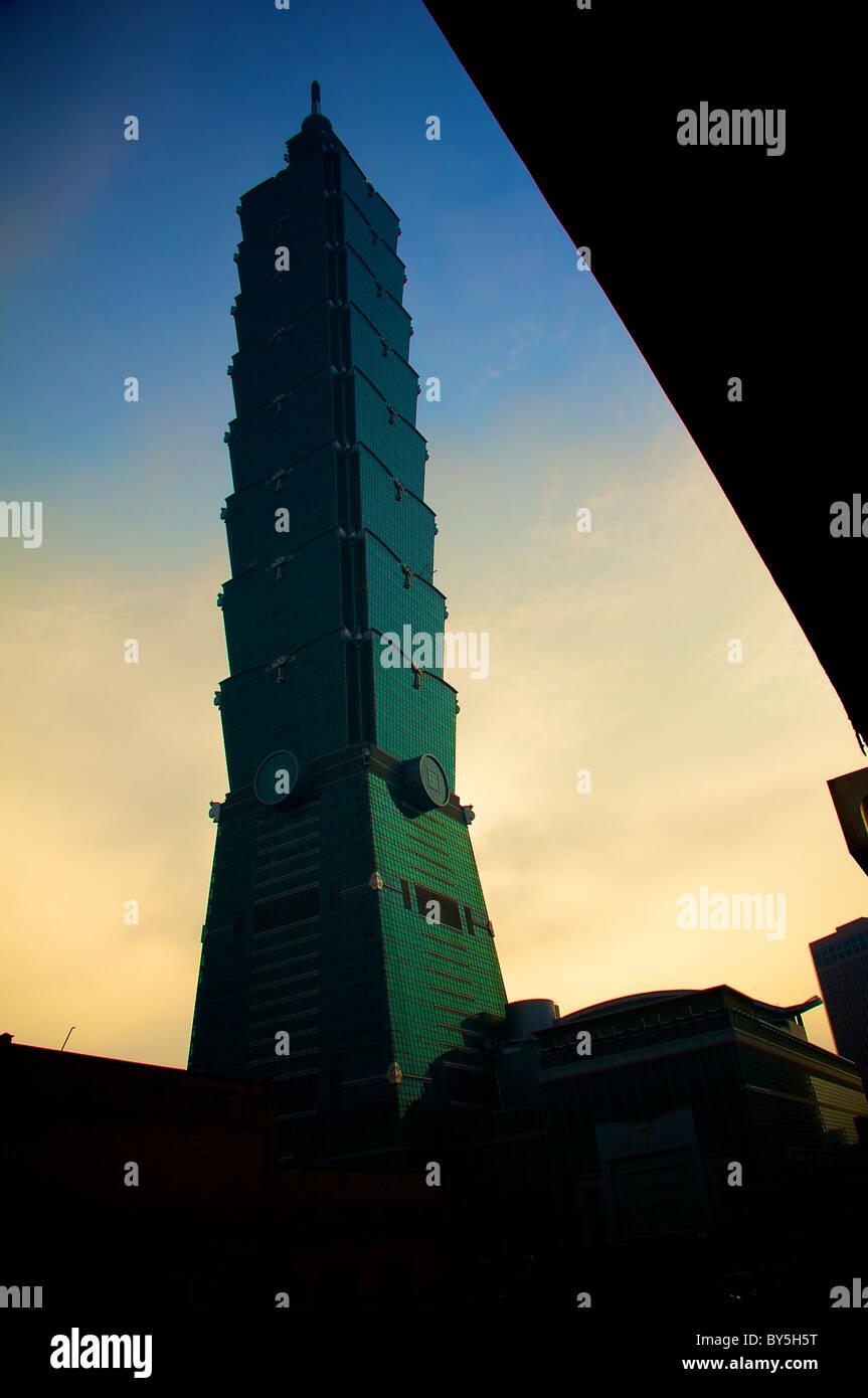 Taipei 101 Immagini Stock