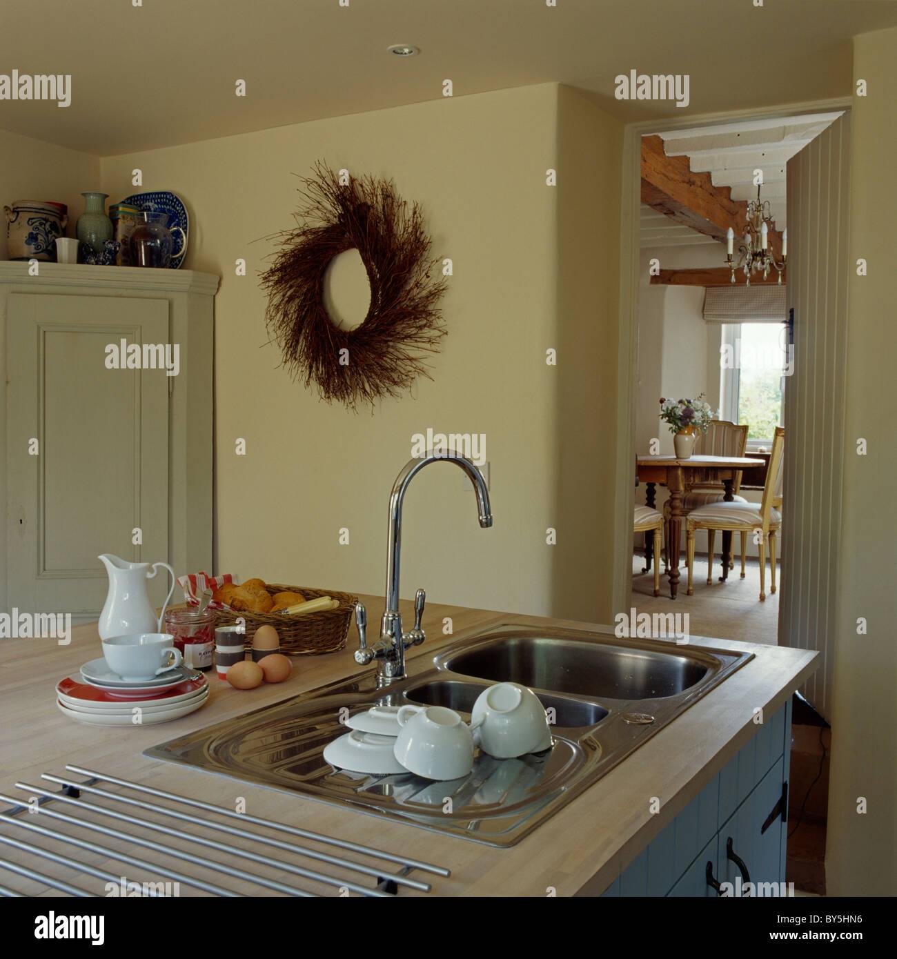 cucina di scarico hook up