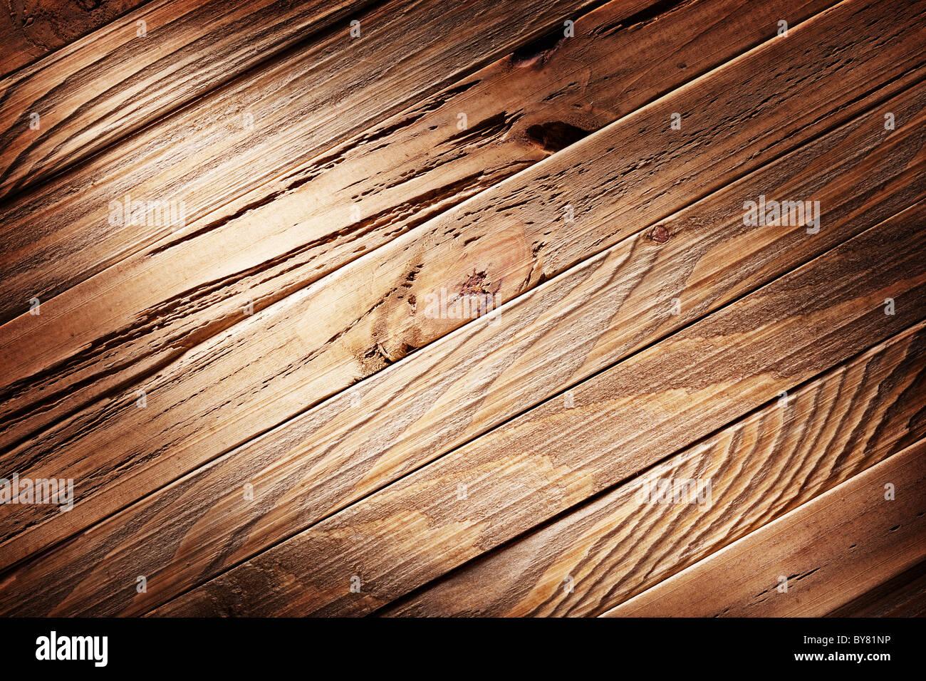 Texture di immagini di vecchie tavole di legno. Immagini Stock