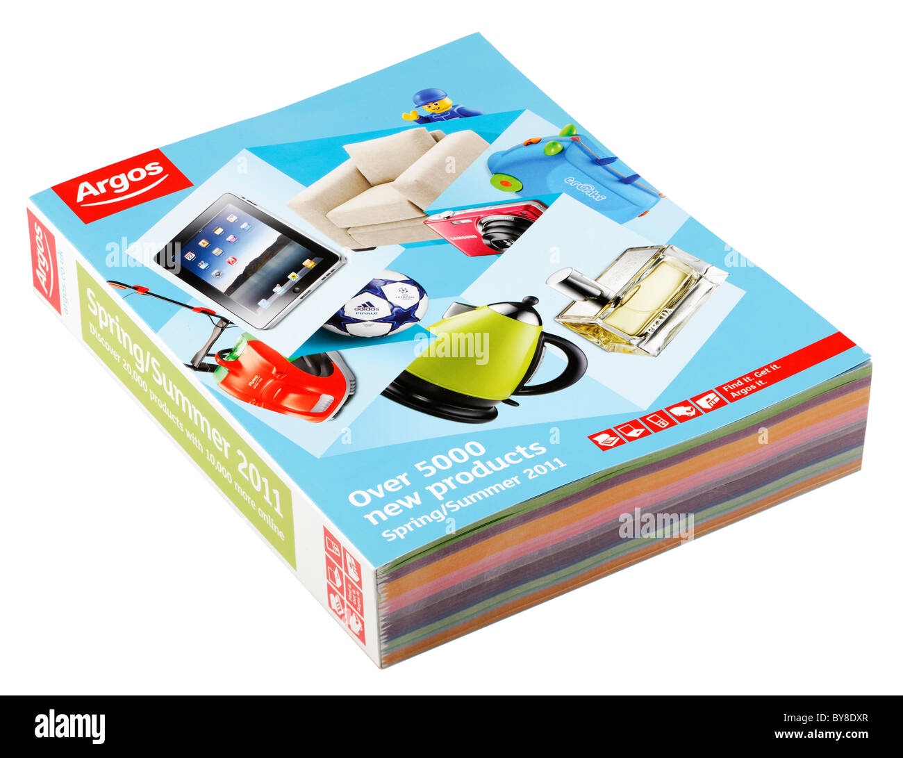 Argos catalogo per la primavera estate 2011 Immagini Stock