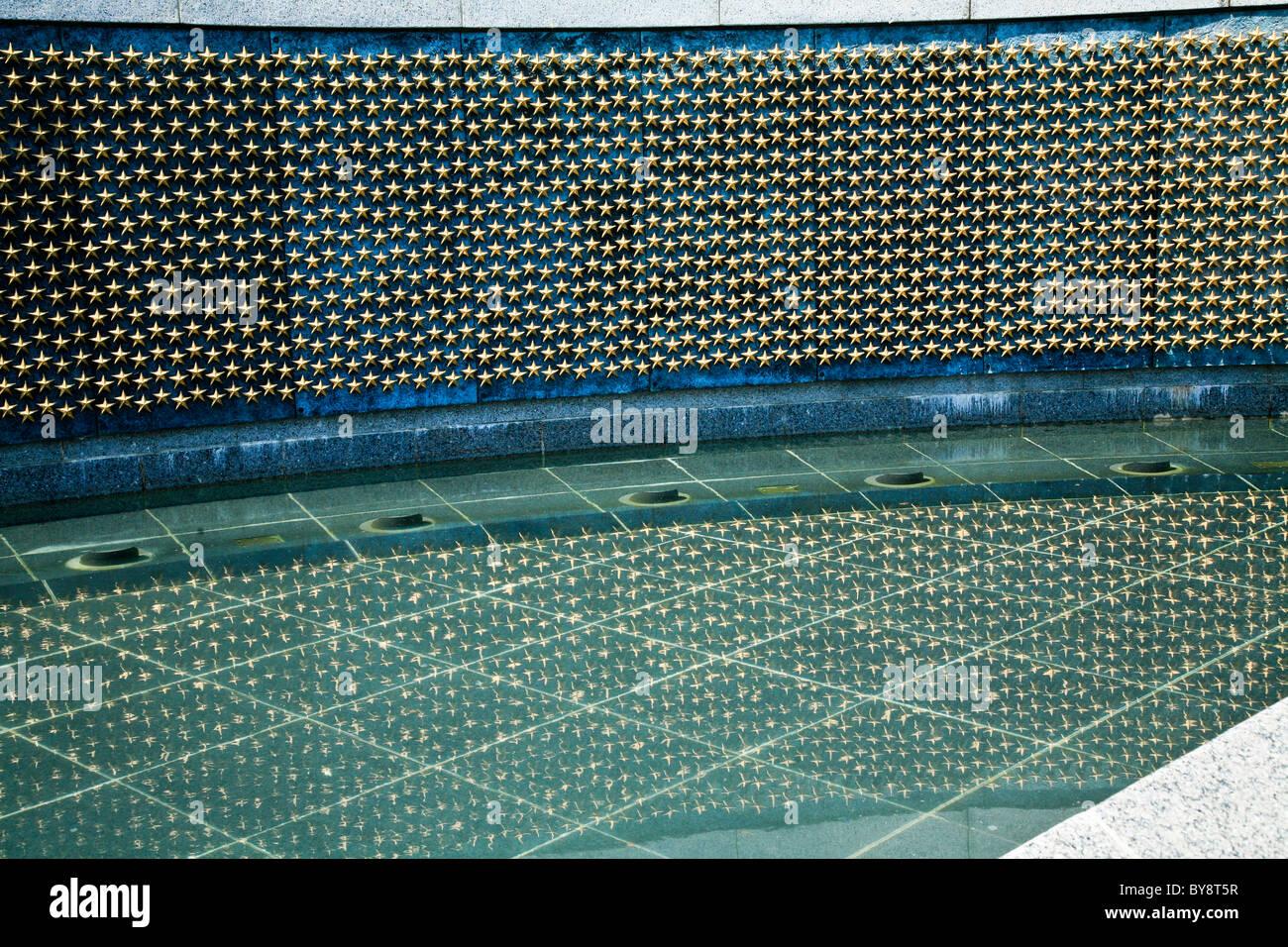 Parete Doro : Stelle d oro sulla libertà parete presso il national memoriale