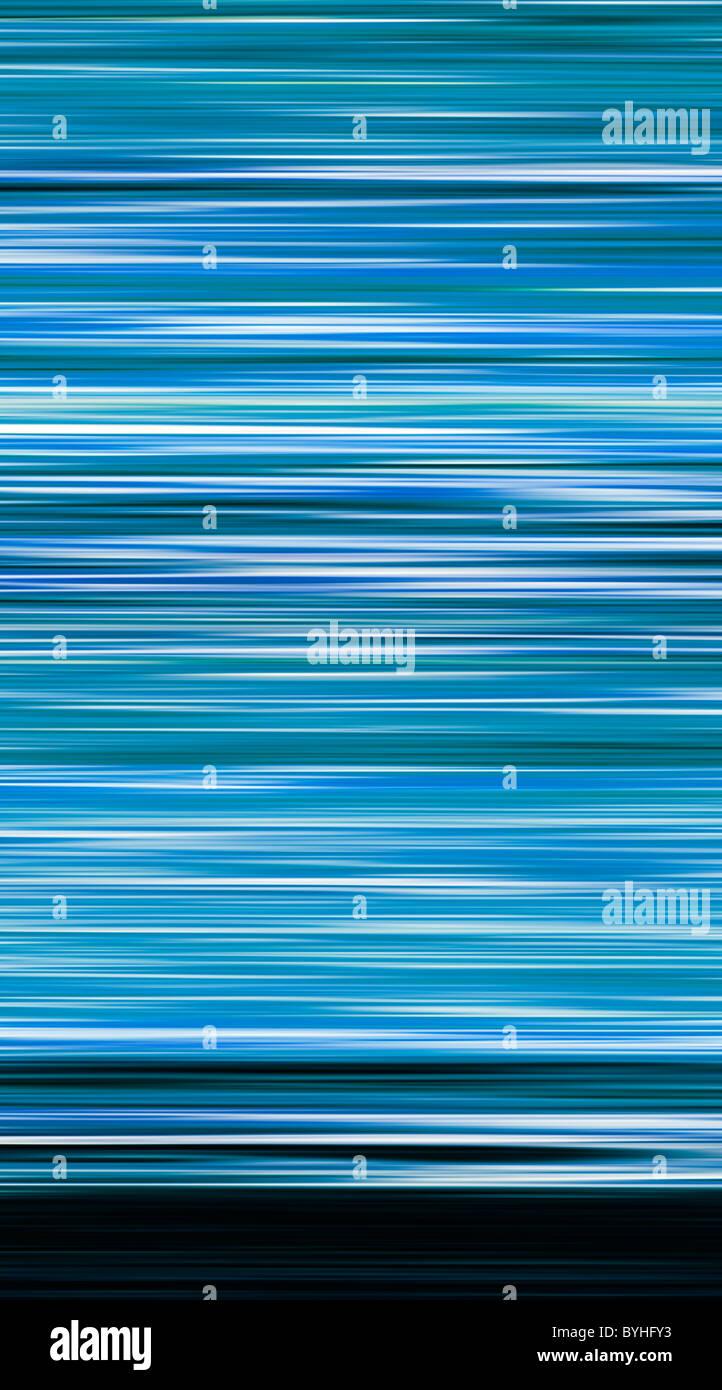 Abstract, colore - strisce orizzontali Immagini Stock