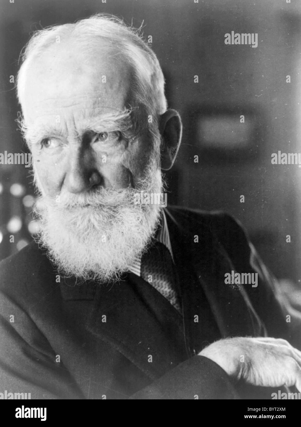 George Bernard Shaw Immagini Stock