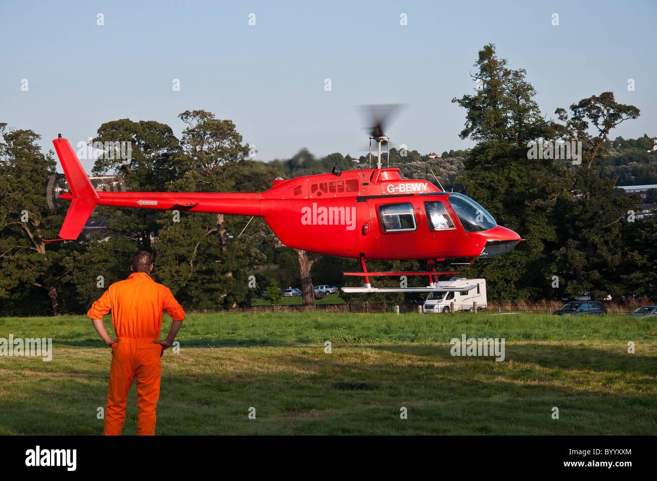 Elicottero Jet Ranger : Jet ranger elicottero volo di aeromobili battenti di decollo foto