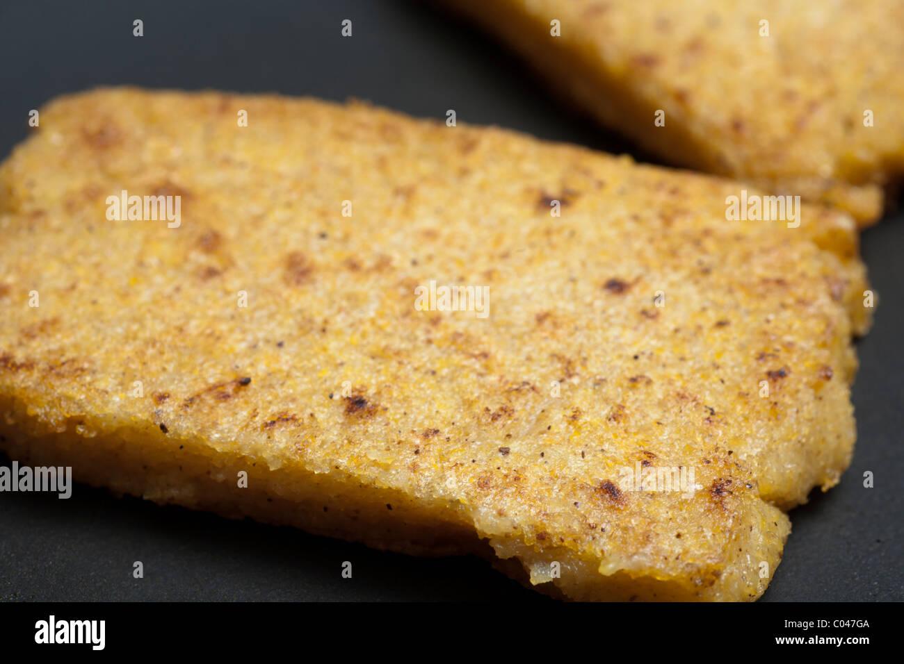 polenta di farina di mais Immagini Stock