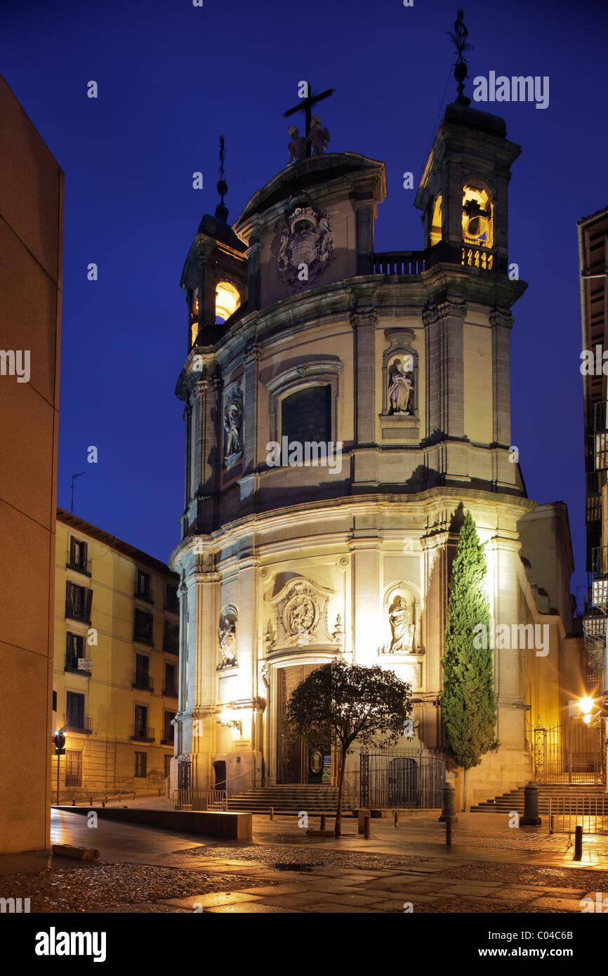 Basilica de San Miguel a Madrid, Spagna Immagini Stock