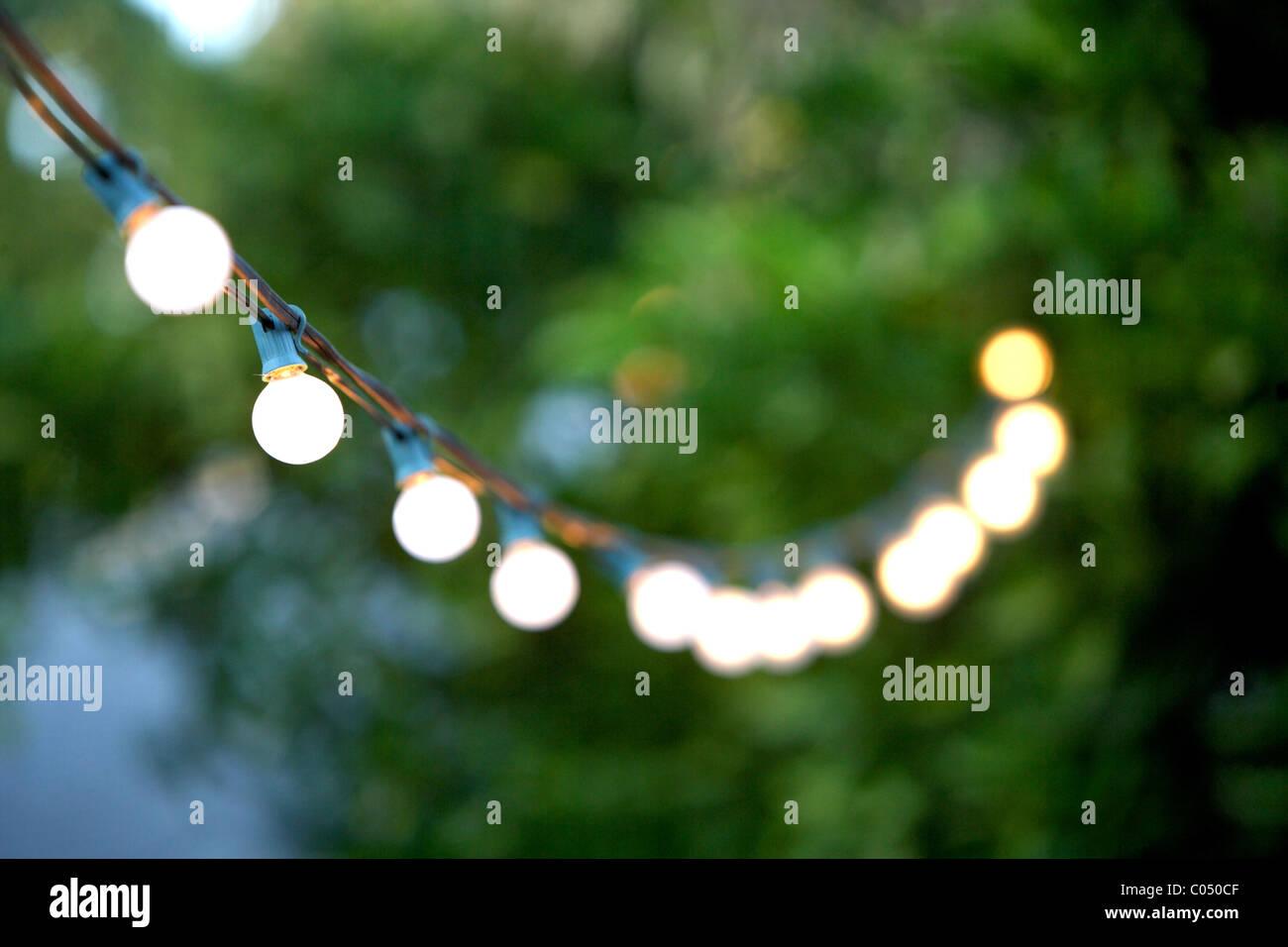 Decorativa illuminazione per esterni foto & immagine stock: 34530847