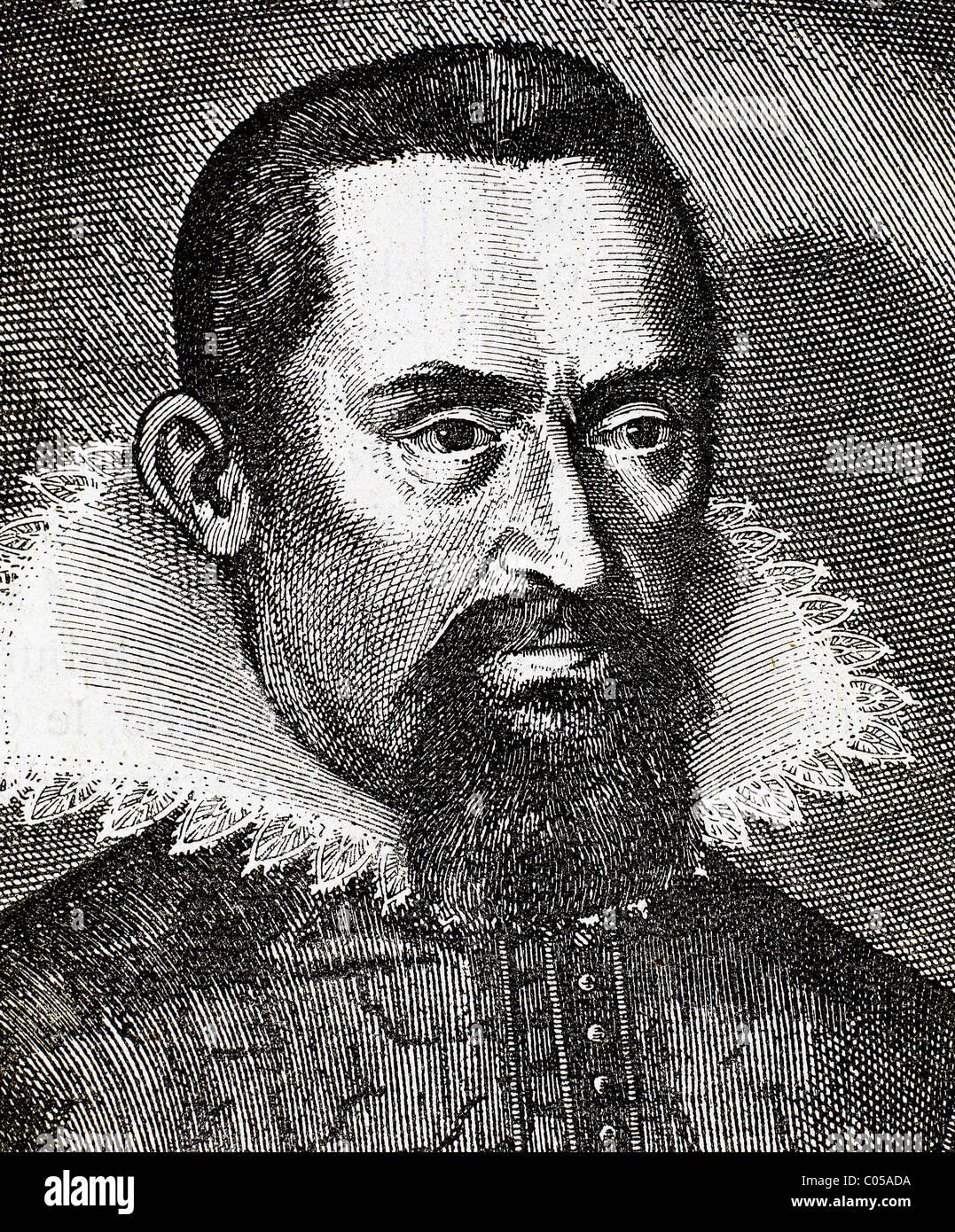 Keplero, Johannes (1571-1630), matematico e astronomo tedesco. Considerato il fondatore della moderna astronomia. Immagini Stock