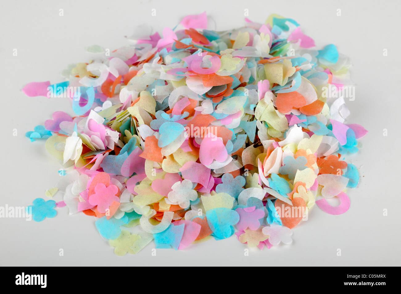 Pila di confetti di nozze Immagini Stock