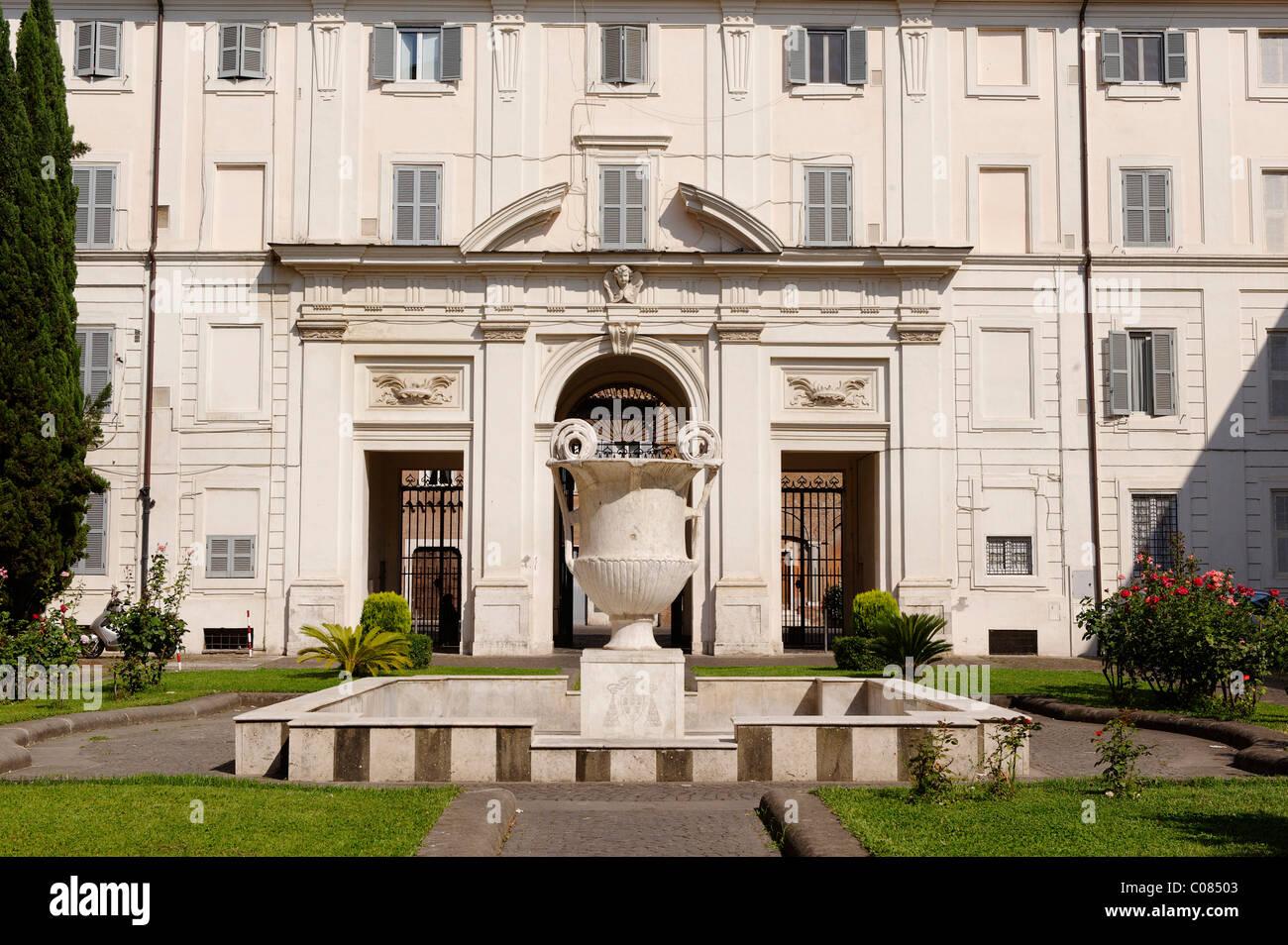 Santa Cecilia chiesa, Trastevere, Roma, Italia, Europa Immagini Stock