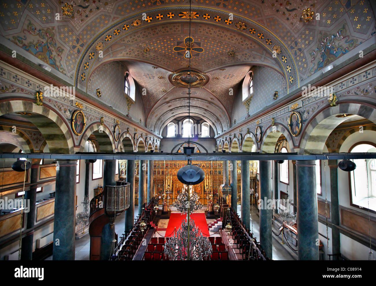 La Chiesa Patriarcale di San Giorgio, nel campo ecumenico Patriarcato Greco Ortodosso di Fener (Fanari), Istanbul, Turchia Foto stock - Alamy