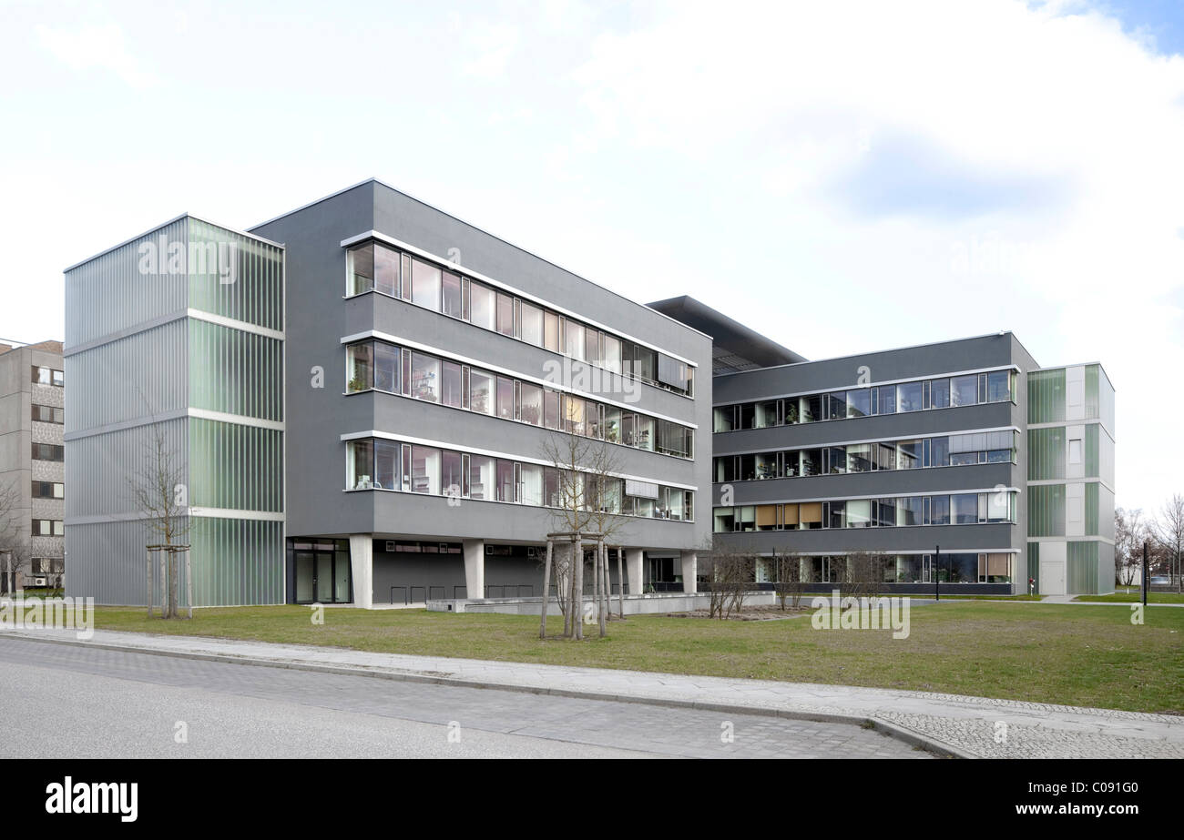 Centro per le tecnologie sostenibili, Adlershof della Città della Scienza, Berlino, Germania, Europa Immagini Stock