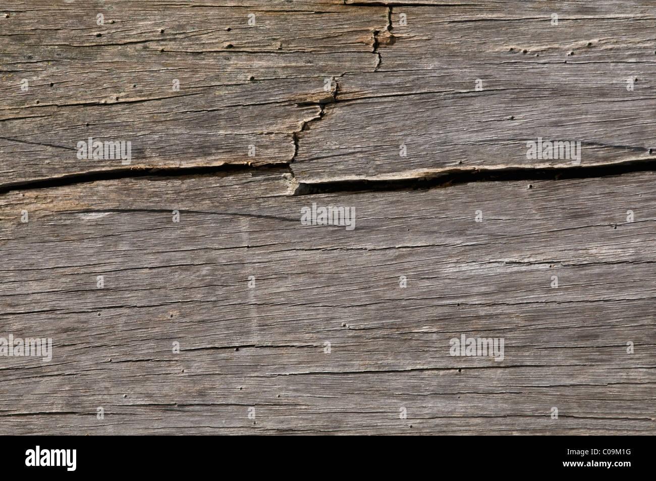 Dettaglio vecchia tavola di legno, sfondo Immagini Stock