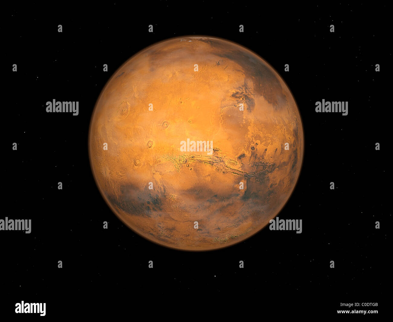 Pianeta Marte Immagini Stock