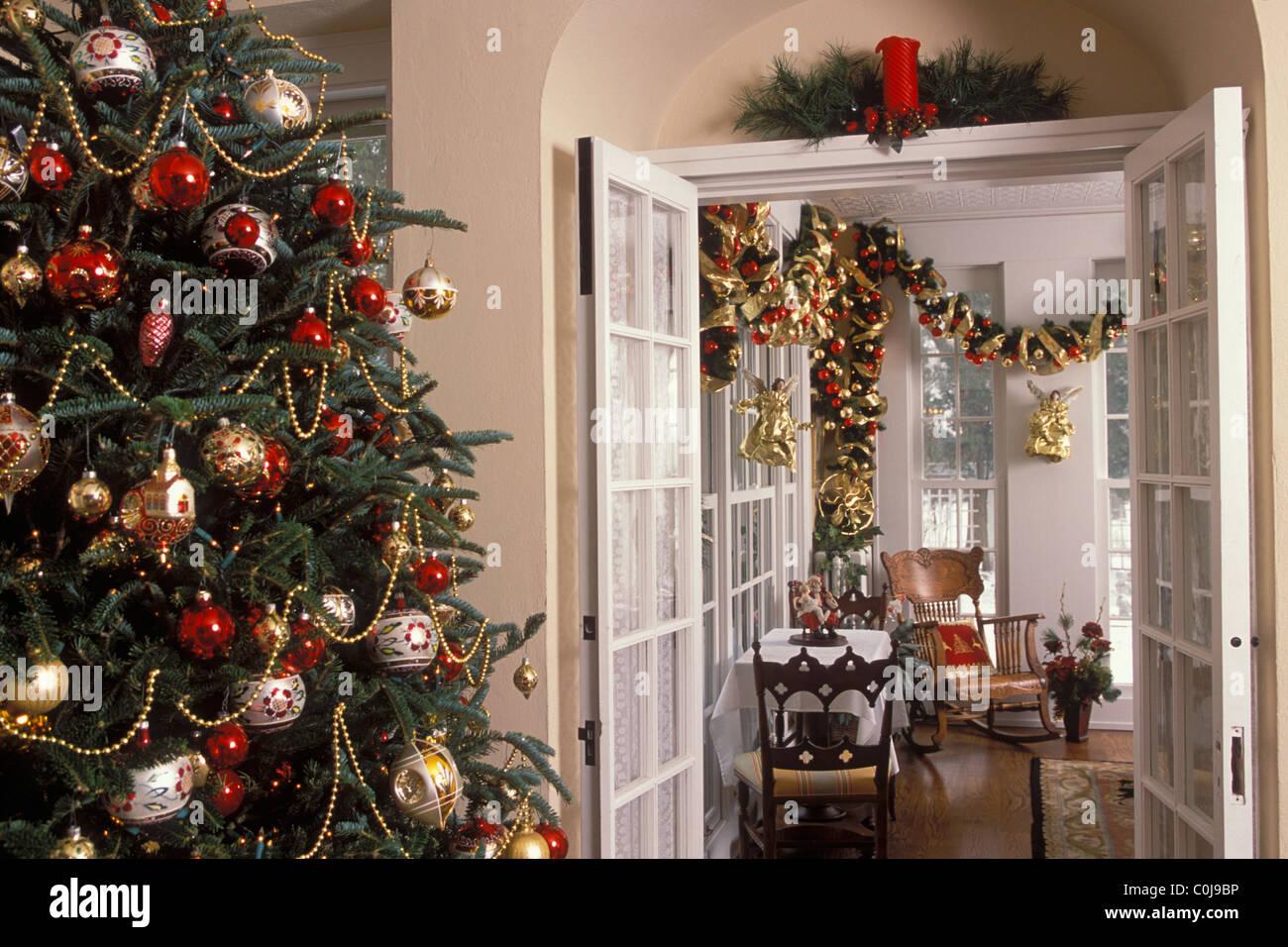 Decorazioni Sala Natale : Le decorazioni di natale in stile vittoriano home in minnesota. le