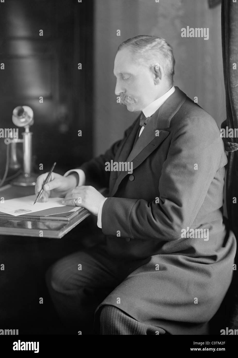 Paul Henri Benjamin Baluet d'Estournelles Barone de costante de Rebecque (1852 - 1924) - co-vincitore del Premio Immagini Stock