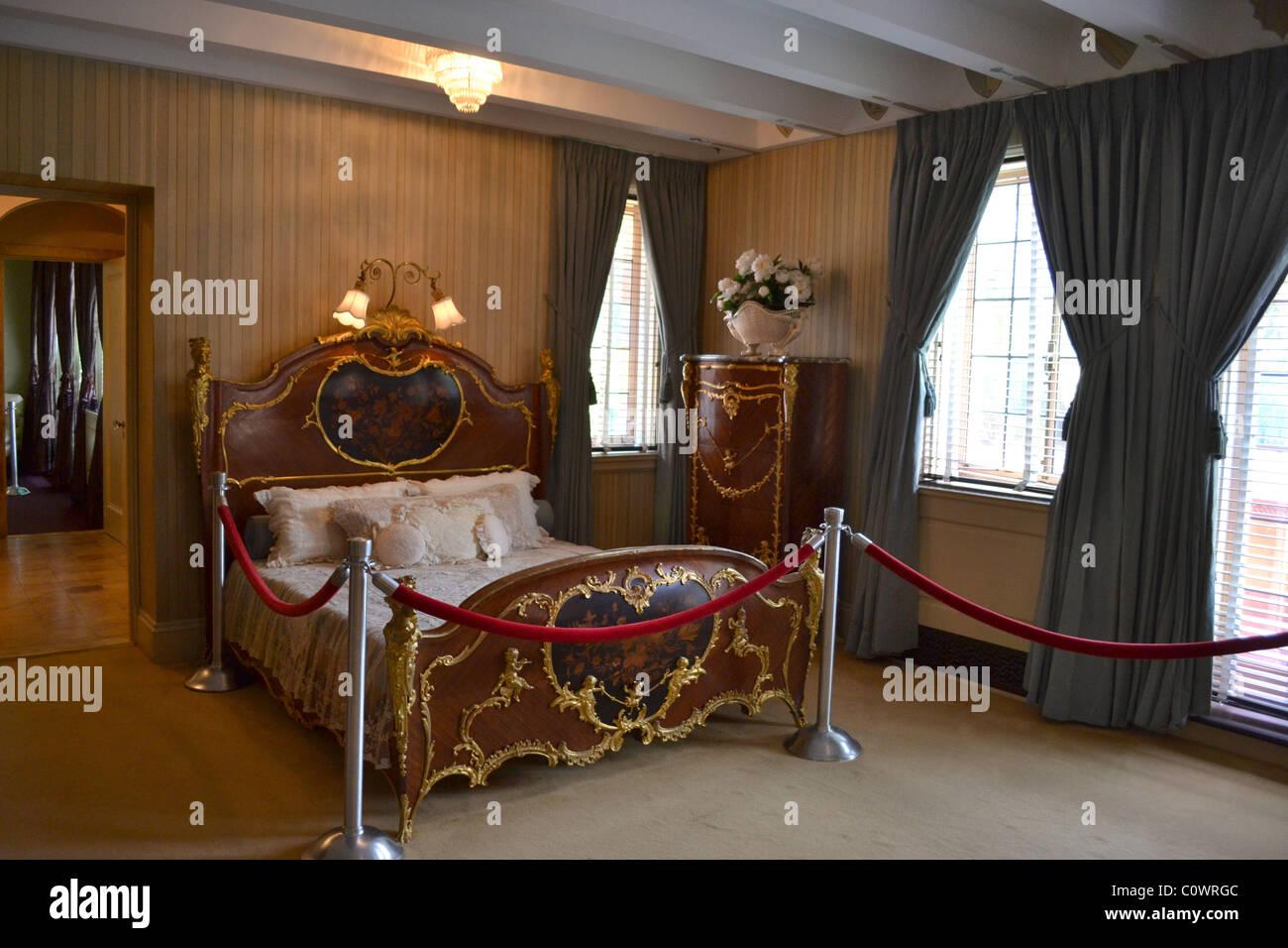 Museo Ringling - Mable squilla la camera da letto privata con ornati ...